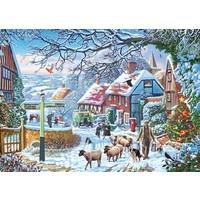 De winterwandeling - puzzel van 1000 stukjes