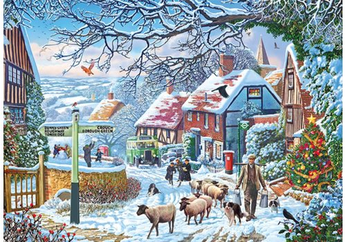 Gibsons A Winter Stroll - 1000 pieces