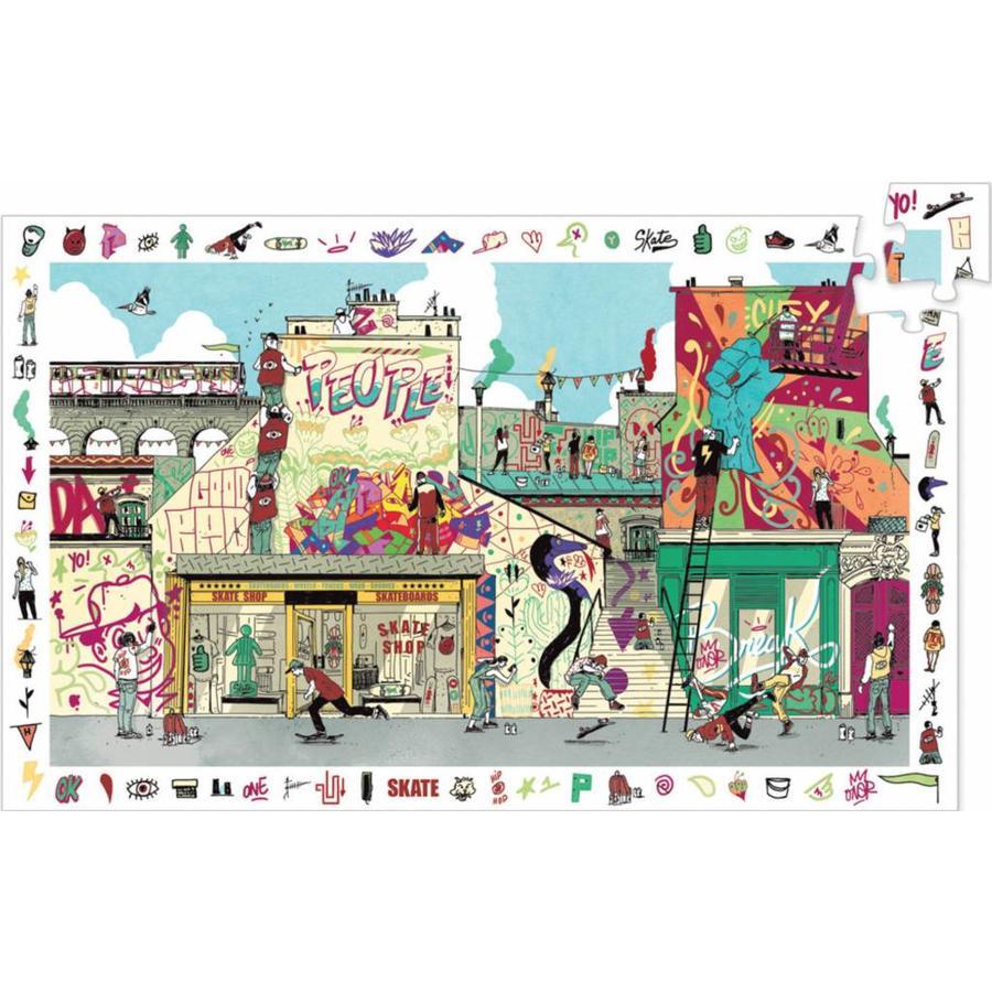 Street Art - puzzel van 200 stukjes-1