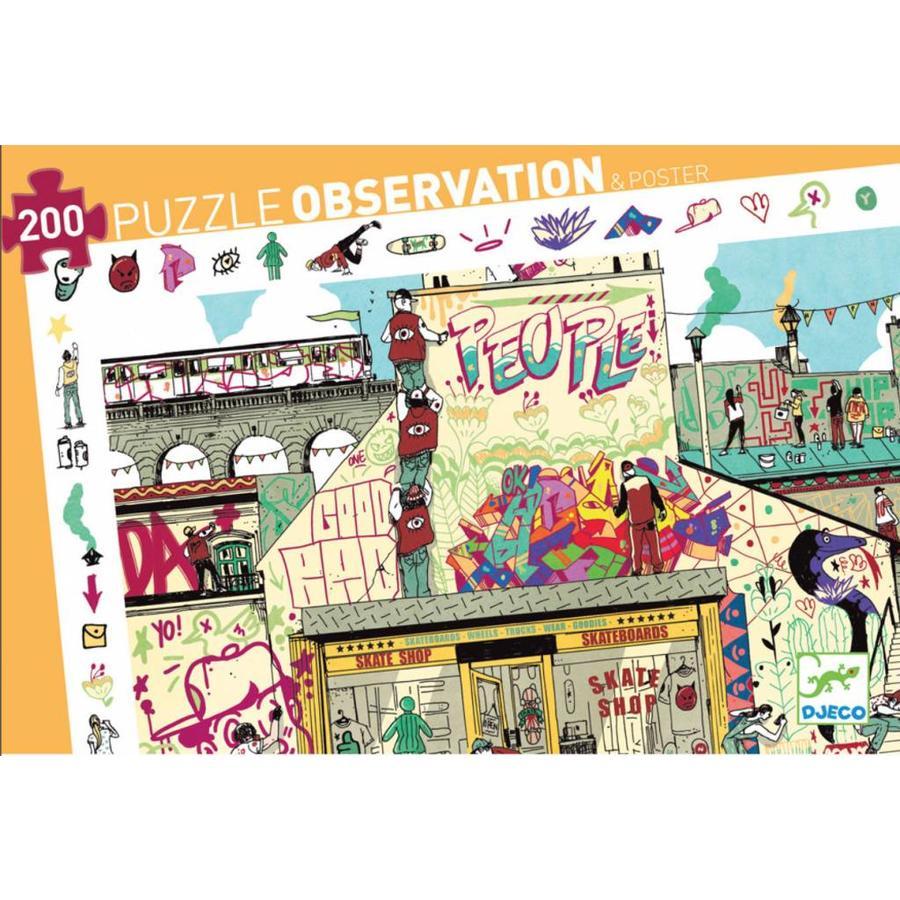 Street Art - puzzel van 200 stukjes-2