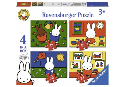 Ravensburger Miffy (Nijntje) - 12+16 +20 +24 pieces