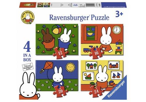 Ravensburger Nijntje - 12+16 +20 +24 stukjes