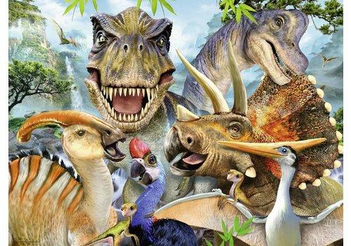 Dino Selfie - 300 stukjes