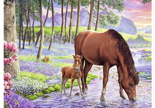 Wilde paarden - 300 stukjes
