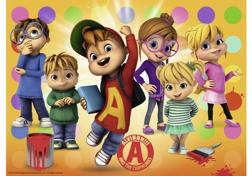Alvin en zijn vrienden - 150 stukjes