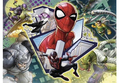 Spider-man: vrienden en vijanden - 150 stukjes