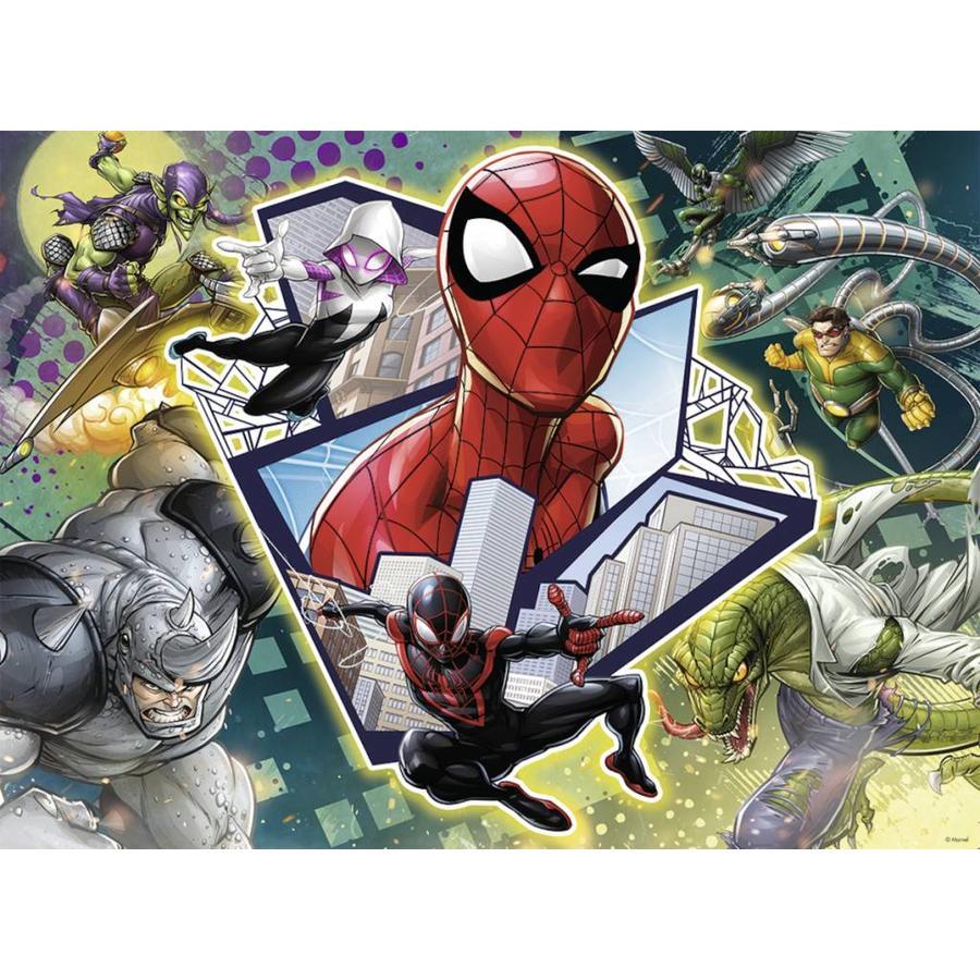Spider-man: vrienden en vijanden - puzzel van 150 stukjes-1