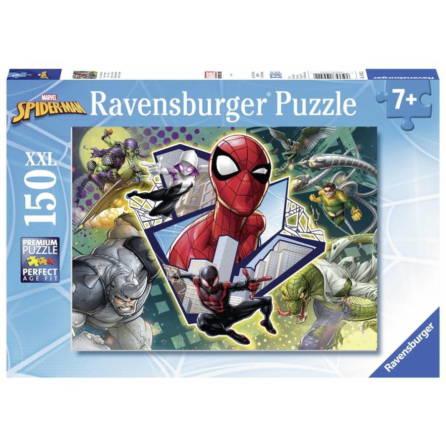 Spider-man: vrienden en vijanden - puzzel van 150 stukjes-2
