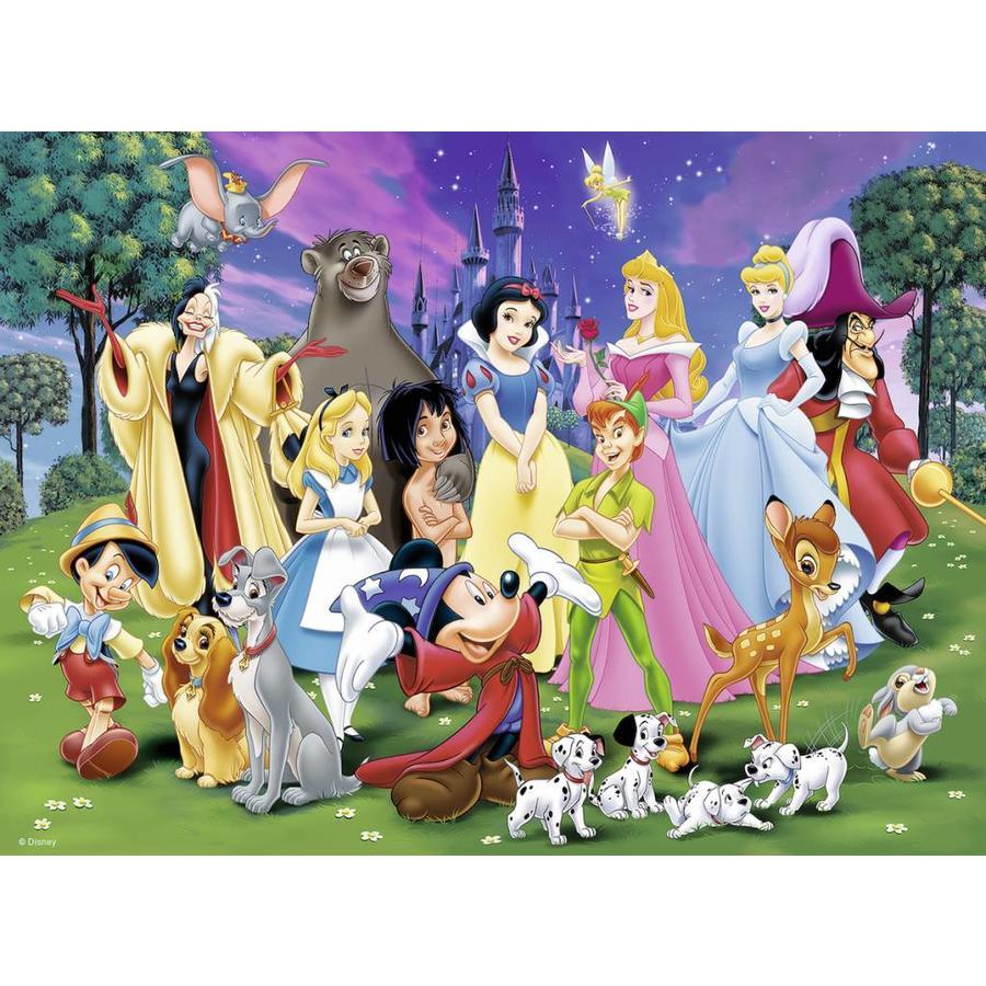 Disney's lievelingen - puzzel van 200 stukjes-1