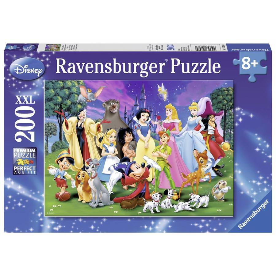 Disney's lievelingen - puzzel van 200 stukjes-2