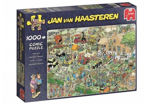Boerderij bezoek - JvH - 1000 stukjes