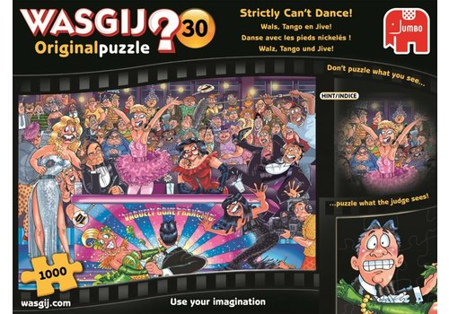 Wasgij Original 30 - Strictly can't dance! - 1000 stukjes