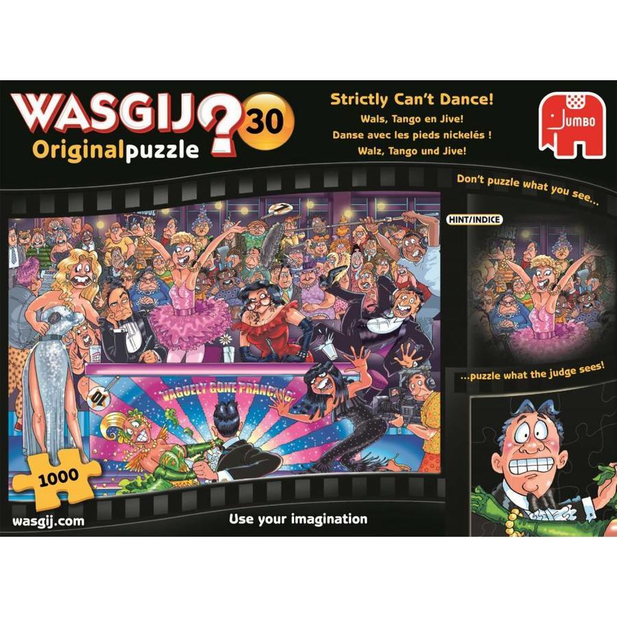Wasgij Original 30  - Strictly can't dance! - 1000 stukjes-1