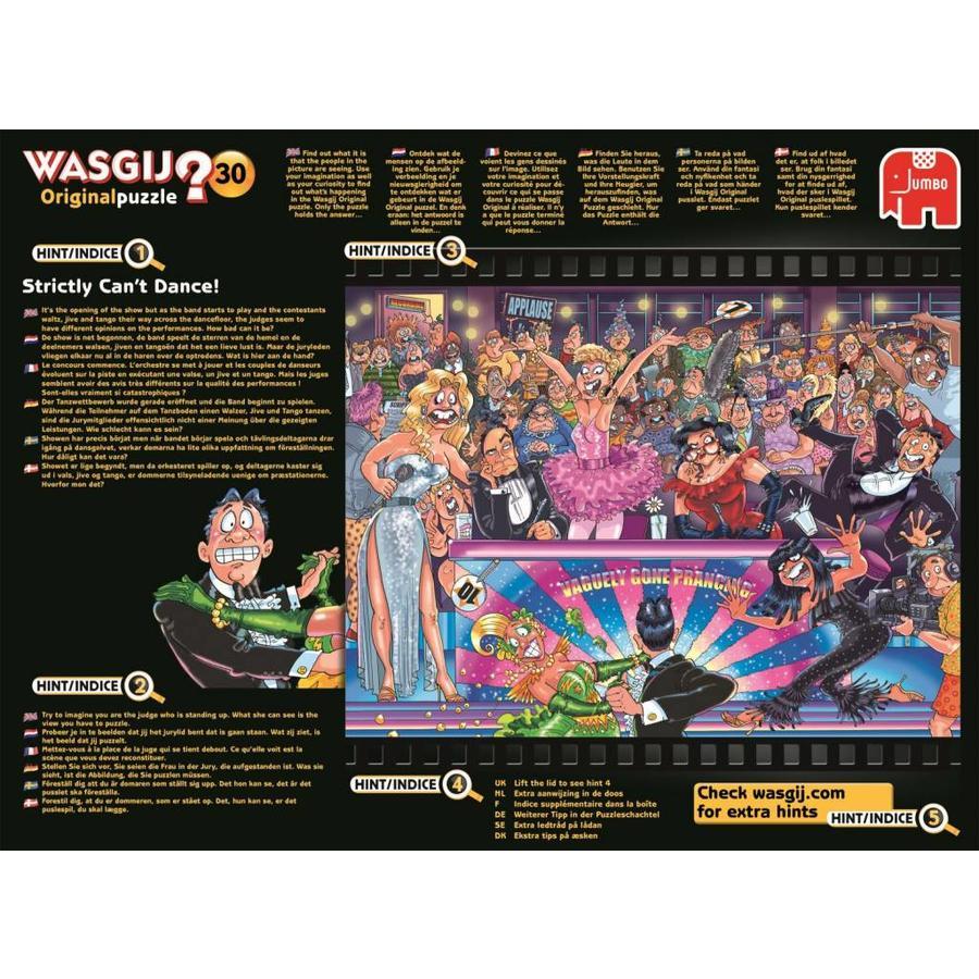 Strictly Can't Dance 1000 Piece New Zabawki Zagadki i łamigłówki Jumbo Jigsaw Puzzle Wasgij Original 30