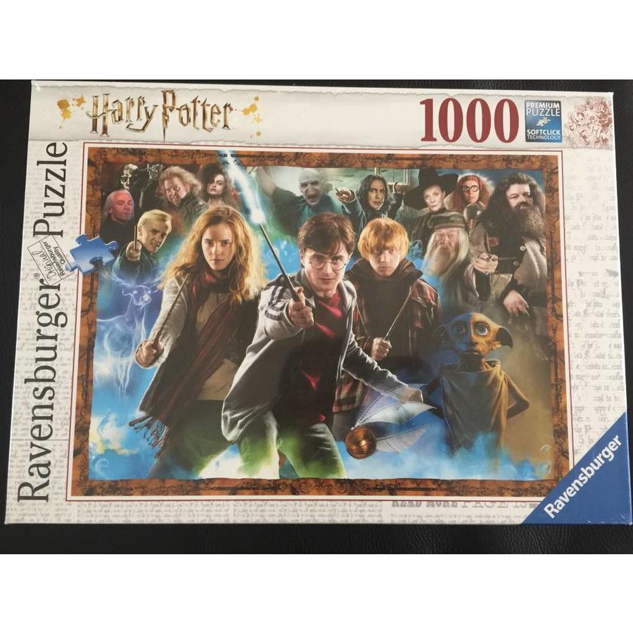 Harry Potter et les sorciers - puzzle de 1000 pièces-1