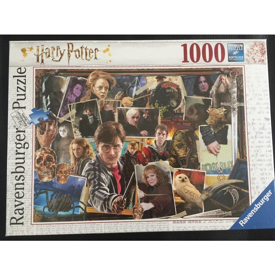 Harry Potter tegen Voldemort - puzzel van  1000 stukjes-1