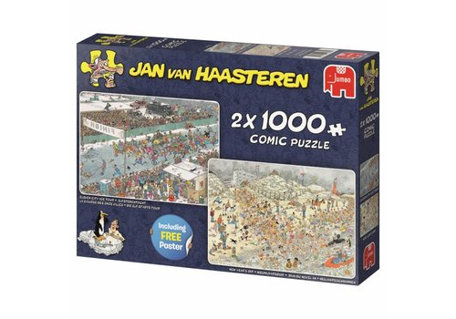 Elfstedentocht / New Year Dive - JvH - 2x1000 pieces