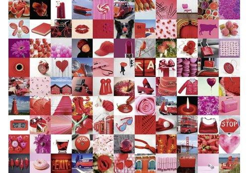 99 mooie rode dingen - 1500 stukjes