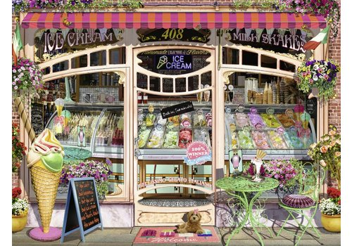 Ice-cream parlour - 1500 pieces