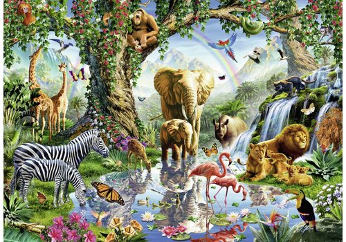 Adventures in the jungle - 1000 pieces