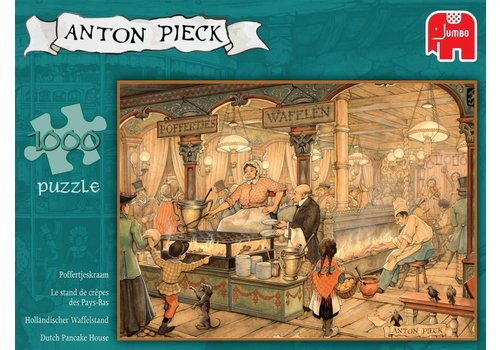 Anton Pieck - Poffertjeskraam - 1000 pieces