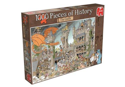 Stukje geschiedenis - Het kasteel - 1000 stukjes