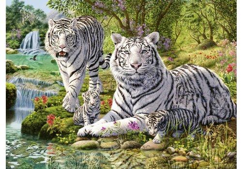 Ravensburger Chats prédateurs blancs - 500 pièces