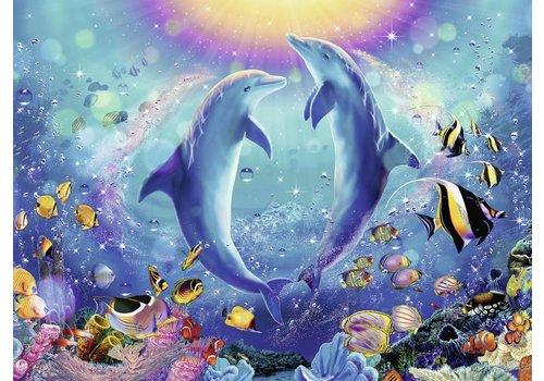 Dansende dolfijnen - 500 stukjes