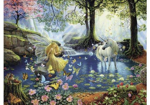 Mystical pond - 300 pieces