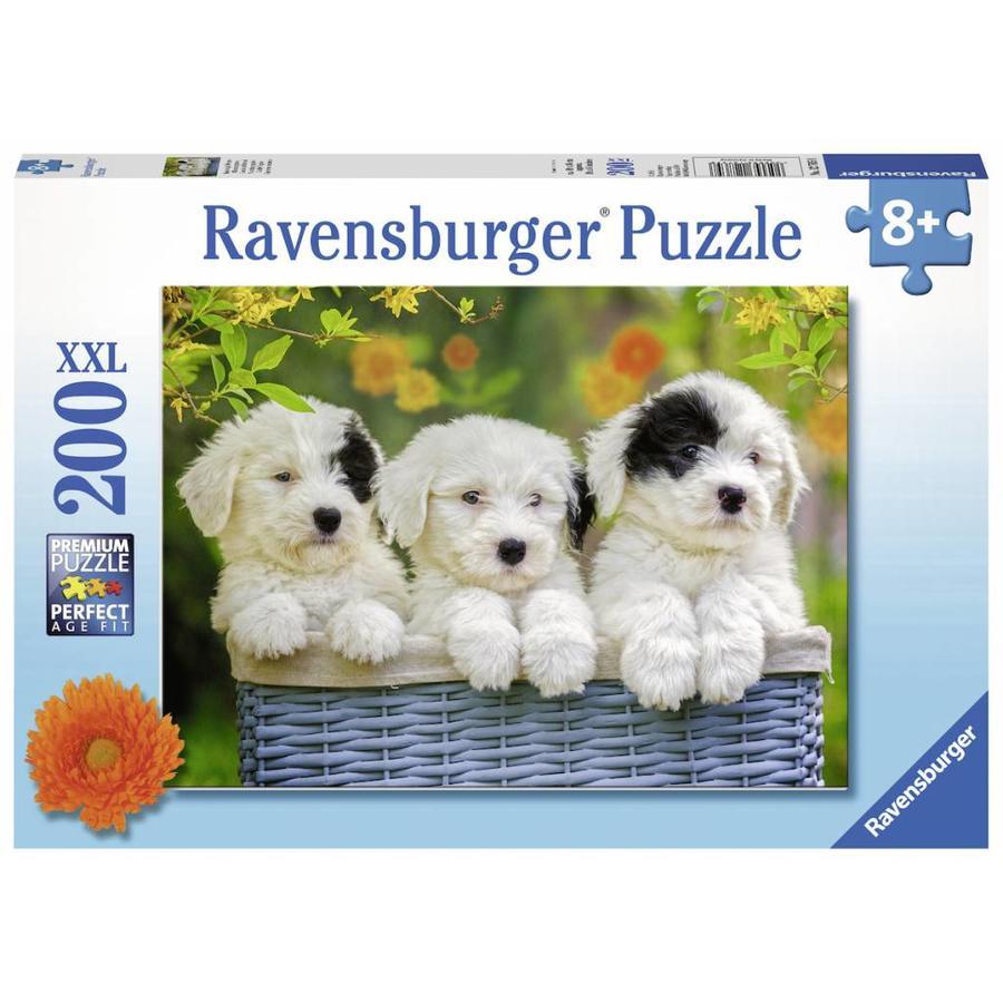 Chiots d'ombrage - Puzzle de 200 pièces-2