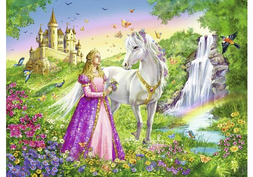 Princess with horse - 200 pieces