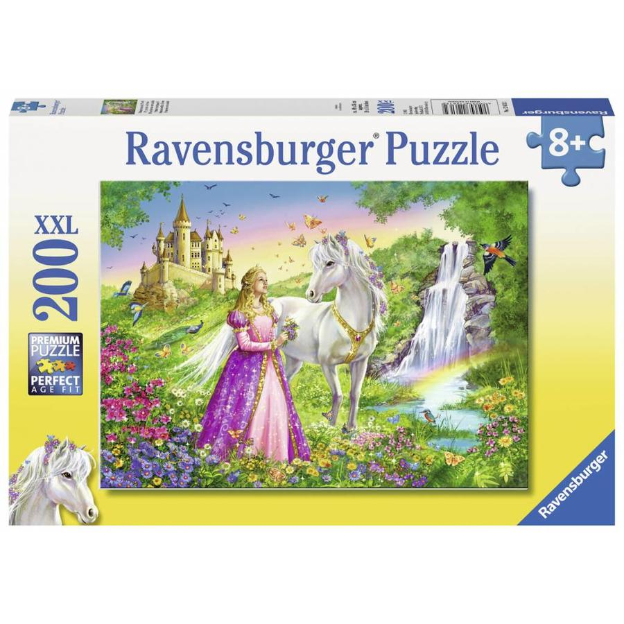 Prinses met paard - puzzel van 200 stukjes-2