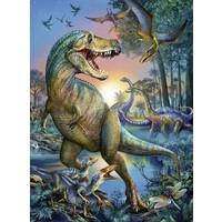 thumb-Dinosaurus - prehistorische reus - puzzel van 150 stukjes-1