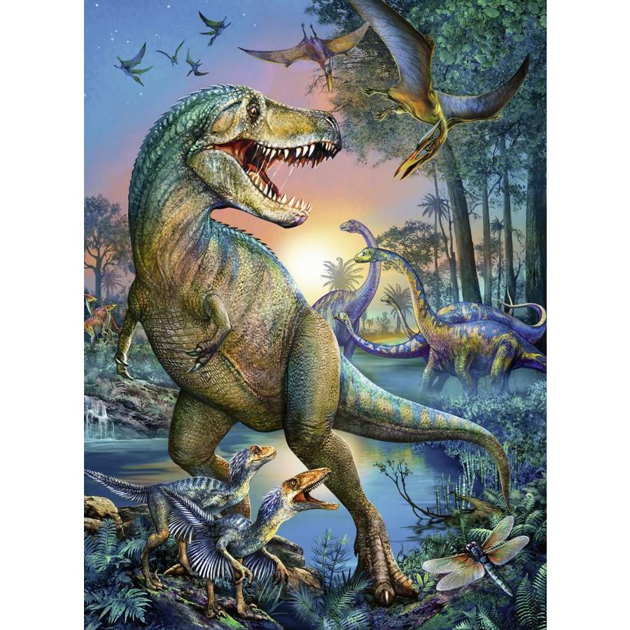 Dinosaure - géant préhistorique - puzzle de 150 pièces-1