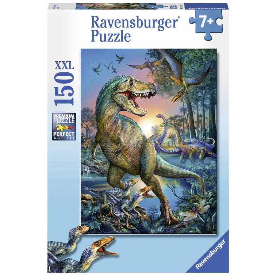 Dinosaure - géant préhistorique - puzzle de 150 pièces-2