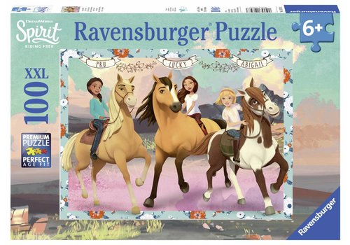 Ravensburger Spirit - Lucky and her friends - 100 pieces