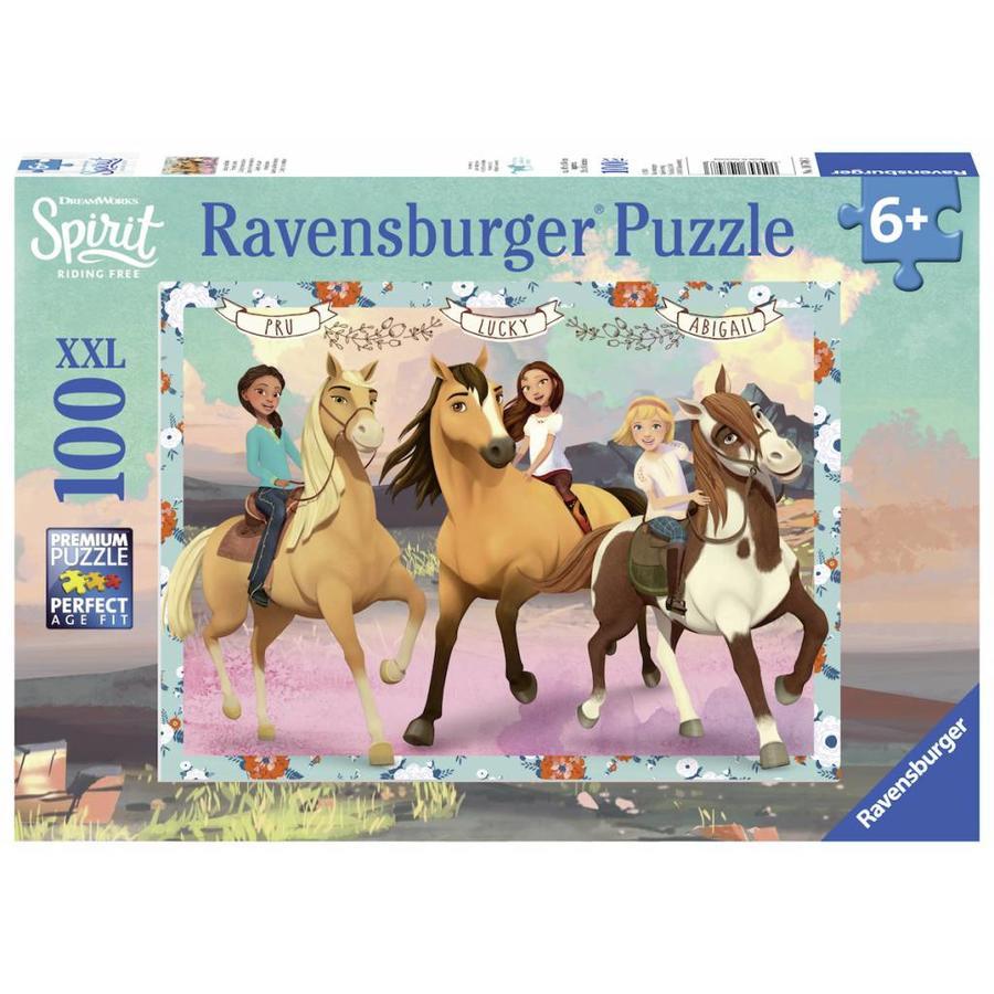 Spirit - Lucky en haar vriendinnen - puzzel van 100 stukjes-1