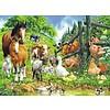 Ravensburger Dierenbijeenkomst - puzzel van 100 stukjes