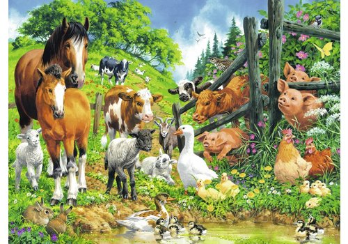 Ravensburger Rencontre des animaux - 100 pièces