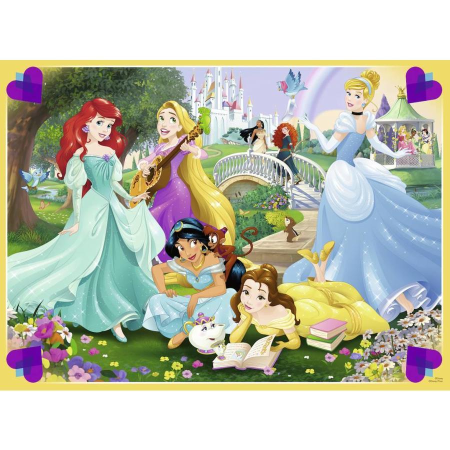 Princesses dans le jardin - puzzle de 100 pièces-1