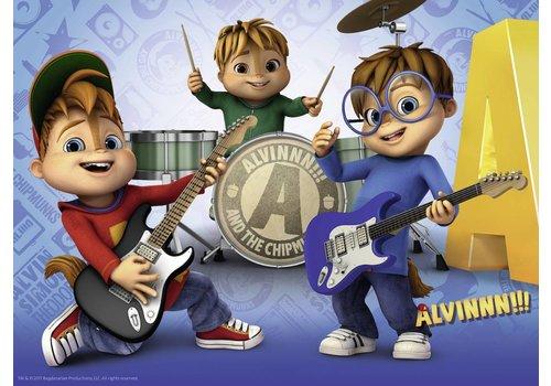 Le groupe de musique d'Alvin - 100 pièces
