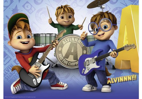 The music band of Alvin - 100 pieces