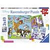 Ravensburger Disney Vrienden - 3 puzzels van 49 stukjes