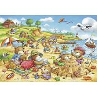 thumb-Vakantie aan zee  - 2 puzzels van 24 stukjes-2
