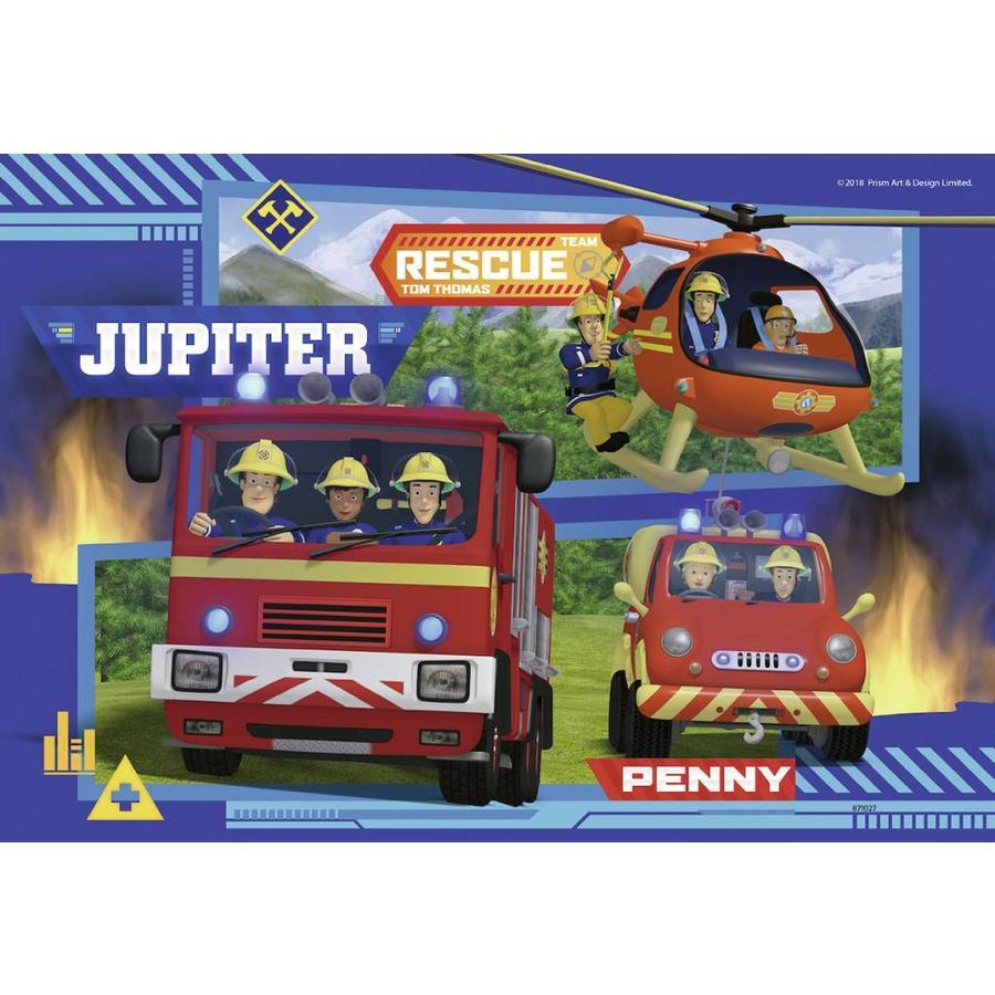 Sam de Brandweerman in actie  - 2 puzzels van 24 stukjes-3