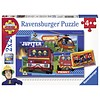 Ravensburger Sam de Brandweerman in actie  - 2 puzzels van 24 stukjes