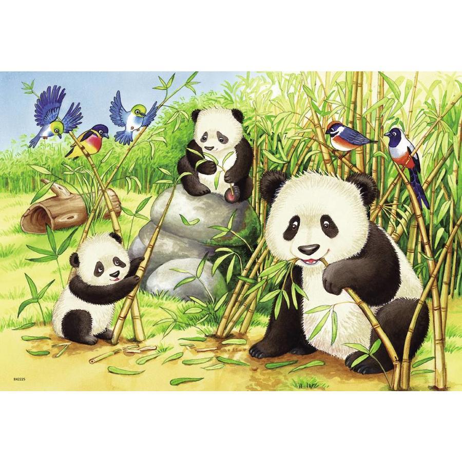 Koala en Panda  - 2 puzzels van 24 stukjes-2