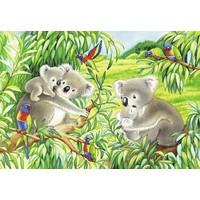 thumb-Koala en Panda  - 2 puzzels van 24 stukjes-3