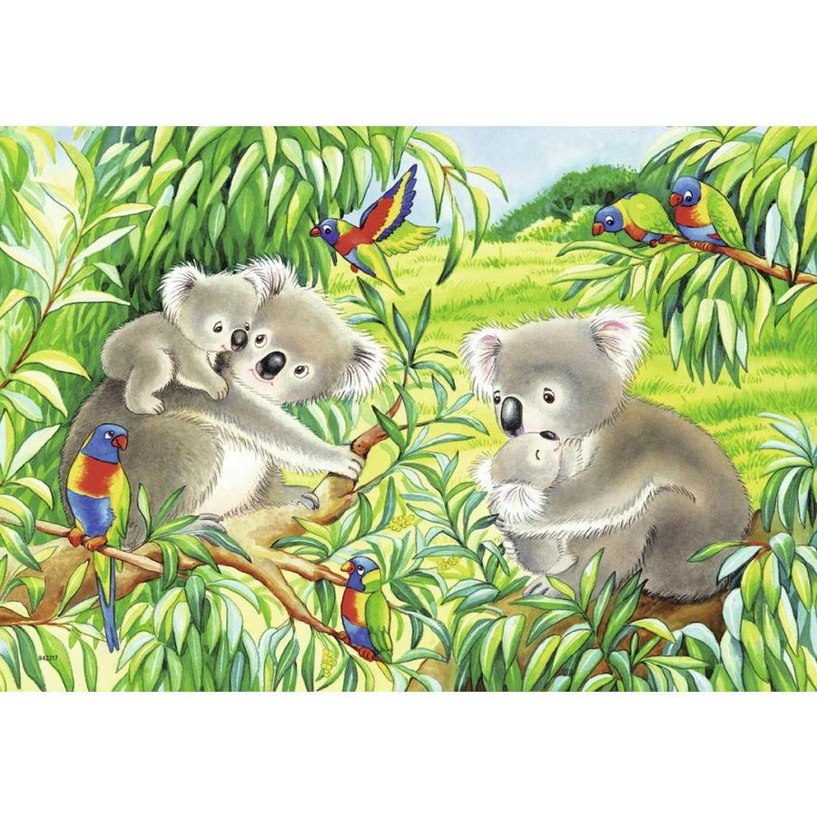 Koala en Panda  - 2 puzzels van 24 stukjes-3
