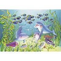 thumb-Op de bodem van de zee - 2 puzzels van 12 stukjes-3